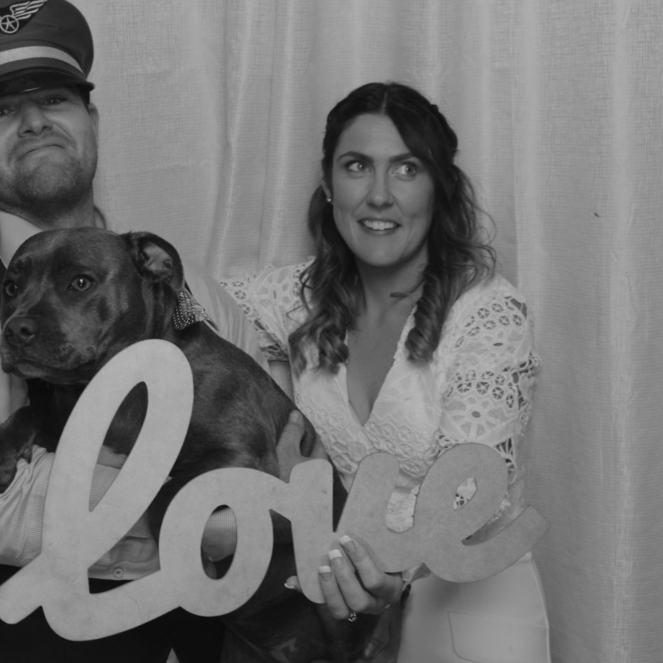 Sam and Mikes Wedding - Photobooth Perth