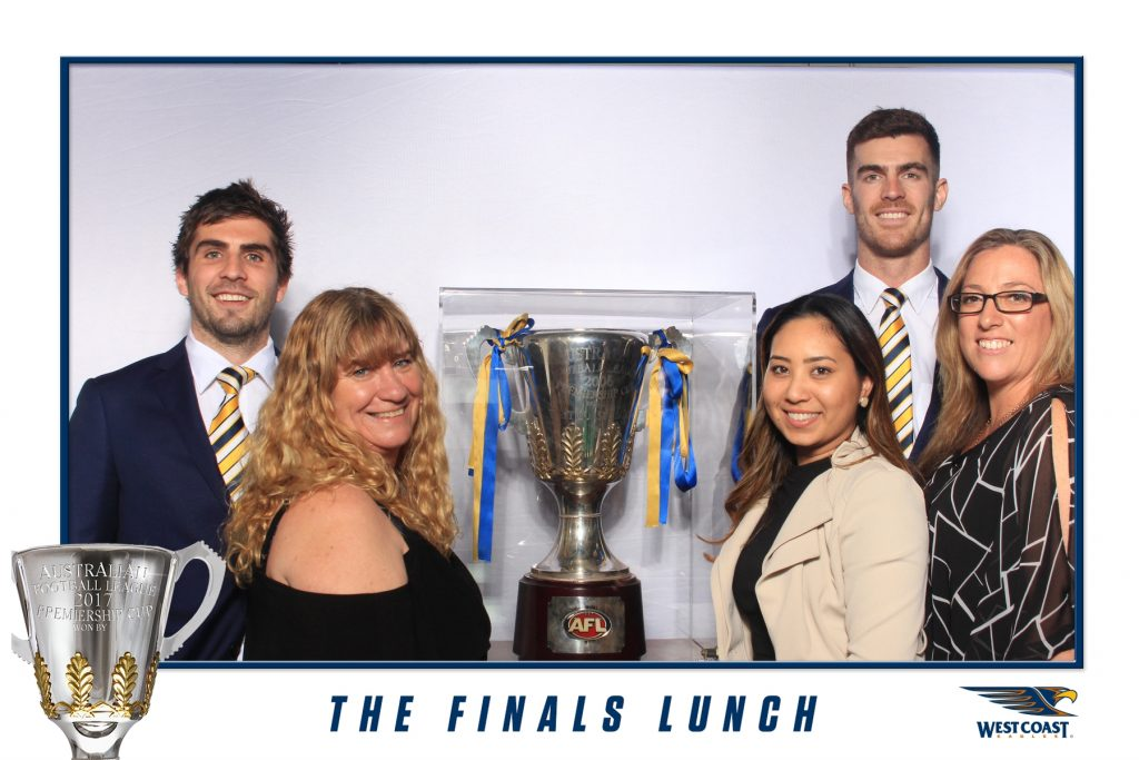 West Coast Eagles - The Finals Lunch - Photo Booth Hire Perth (1)