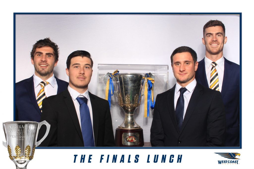 West Coast Eagles - The Finals Lunch - Photo Booth Hire Perth (2)