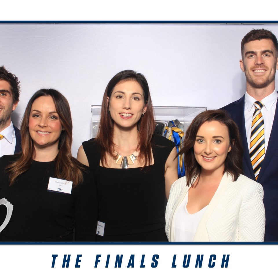 West Coast Eagles - The Finals Lunch - Photo Booth Hire Perth (3)
