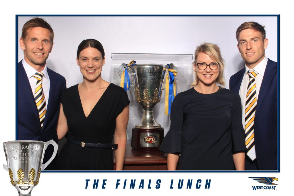 West Coast Eagles - The Finals Lunch - Photo Booth Hire Perth (5)