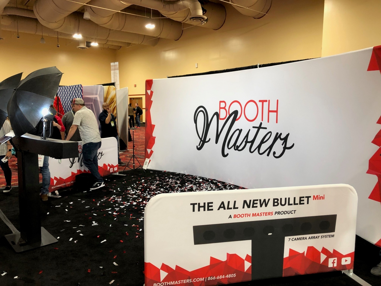 Photo Booth Expo 2019 - Booth Master Bullet Time - Adept Photo Booths Perth