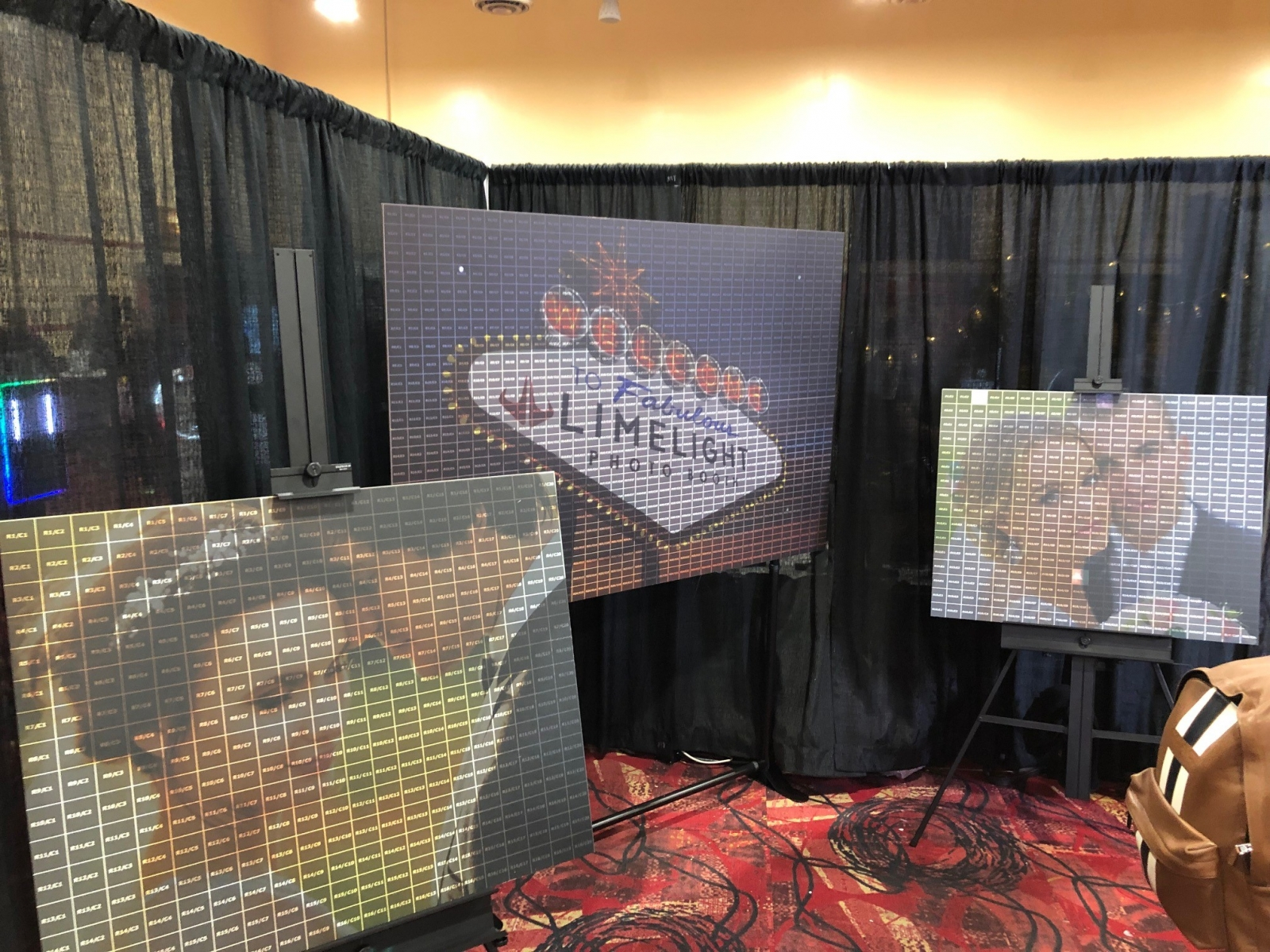 Photo Booth Expo 2019 - Mosiac - Adept Photo Booths Perth