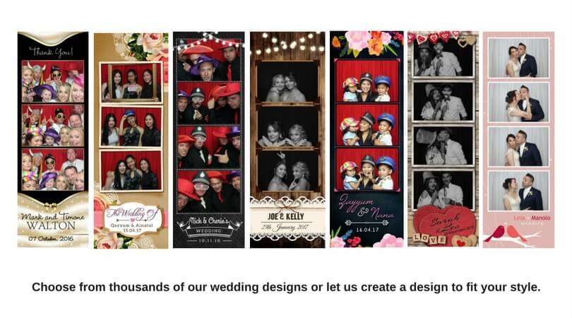 Wedding Photo Booth Artwork