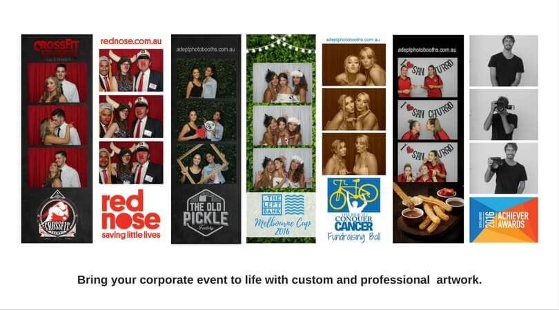 Corporate Photo Booth Artwork