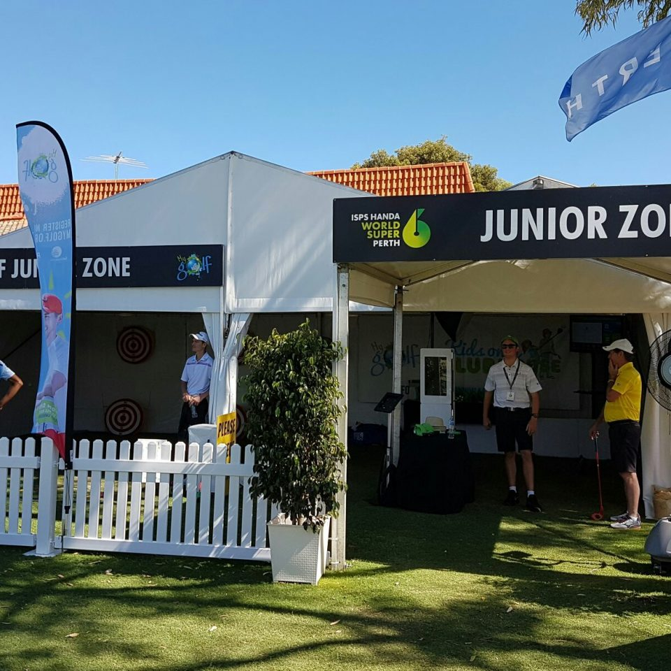 ISPS HANDA World Super 6 Perth Golf Tournament - Perth Photobooth Hire - Photobooth