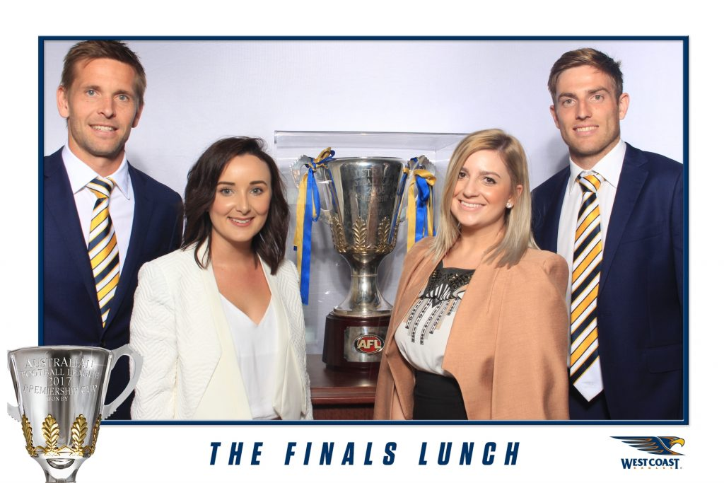 West Coast Eagles - The Finals Lunch - Photo Booth Hire Perth (4)
