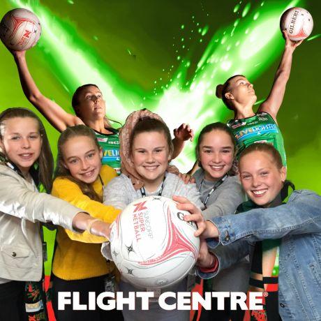 Flight Centre West Coast Fever v Adelaid Thunderbirds