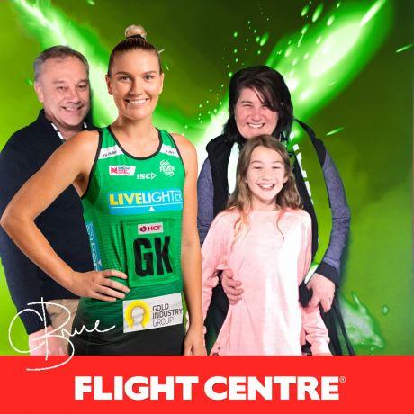 Flight Centre West Coast Fever v NSW Swifts 2
