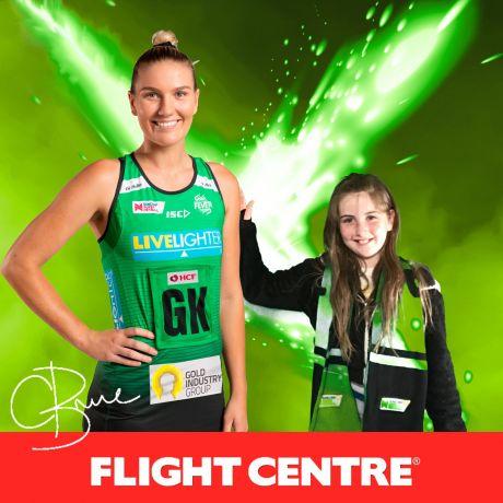 Flight Centre West Coast Fever v NSW Swifts