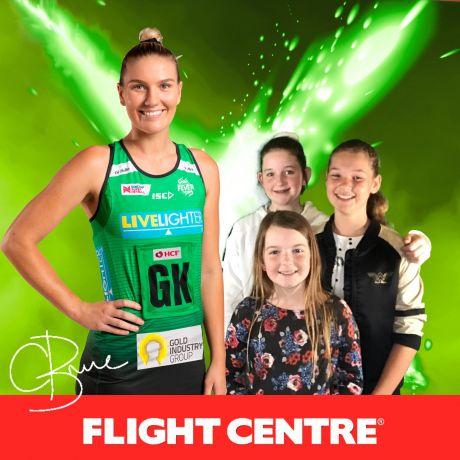 Flight Centre West Coast Fever v Queensland Firebirds